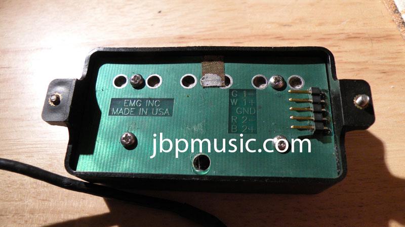 Emg Pickups Wiring Diagram On Emg Hz Pickups Wiring Diagrams Color