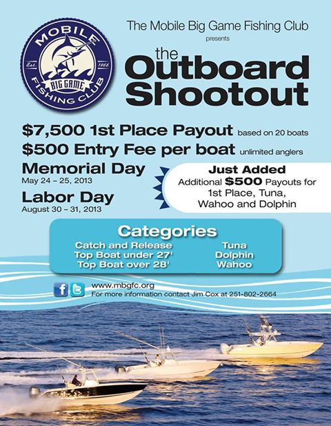 2nd Annual 2013 Mbgfc Memorial Day Outboard Shootout