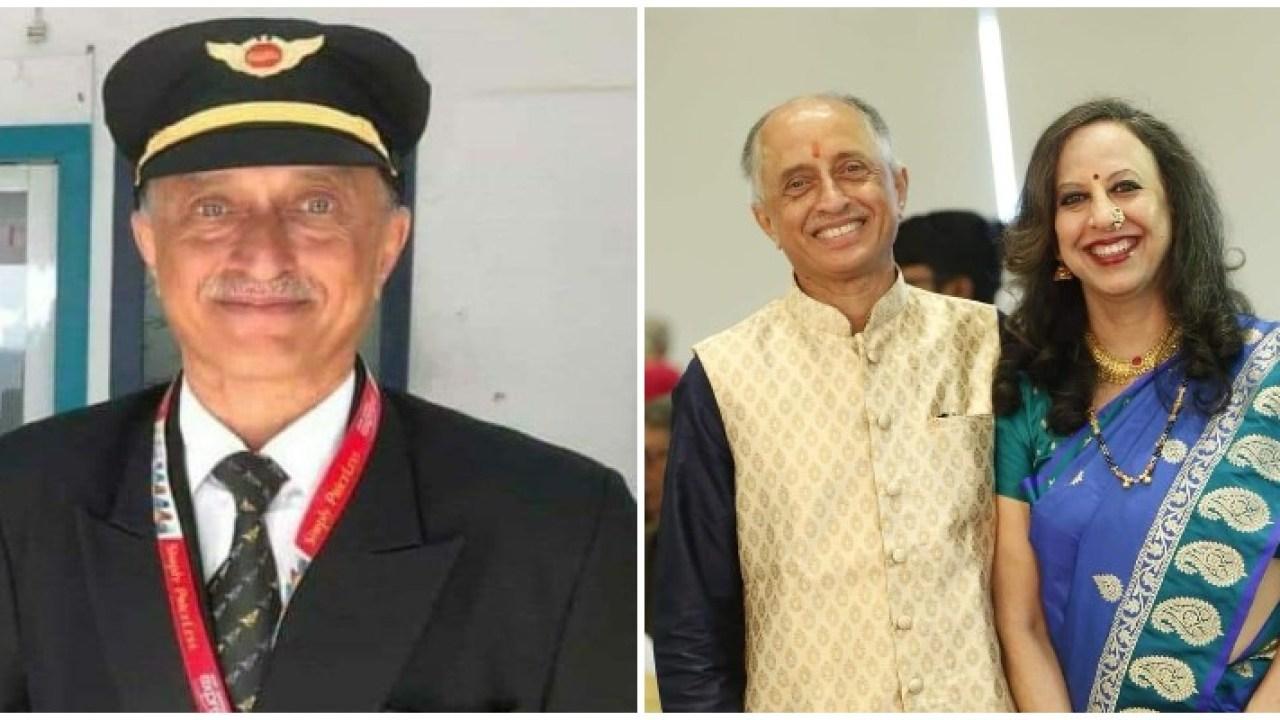 Captain Deepak Vasantha Sathe, an experienced pilot - The Gulf Indians