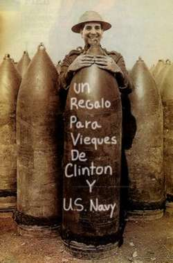 A gift for Vieques from Clinton and the U.S. Navy - photo by thegully.com