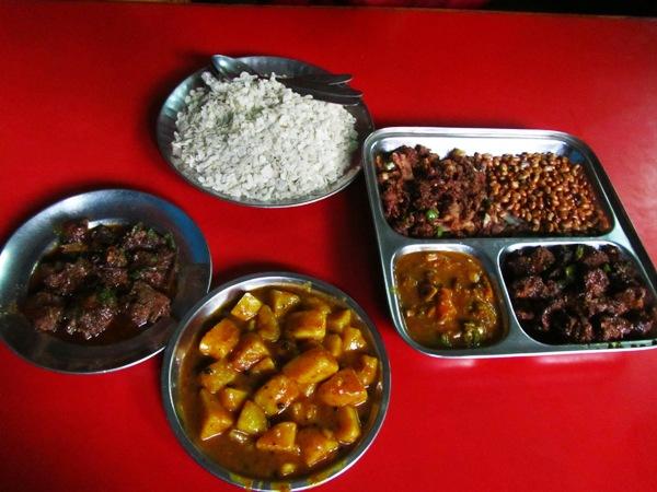 Varities of Newari food @Kwacha