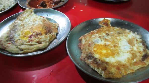 Mixed bara ready for eating @Honacha