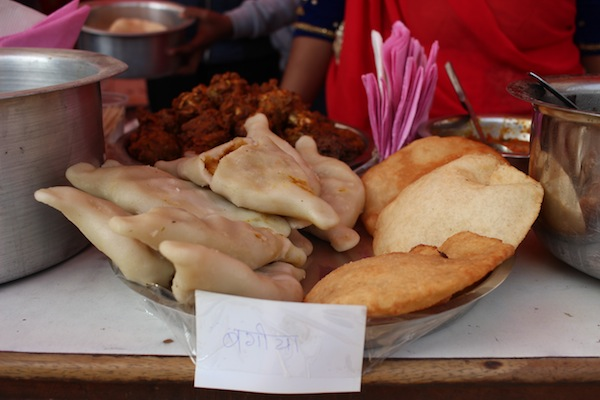 Bagiya: It is a kind of dhikri of eastern Nepal, which shape is flattened with protruding ends, and also sometime has fillings of boiled potato and spices.