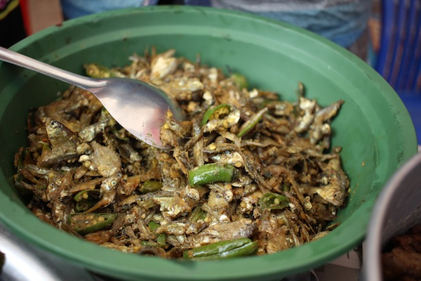Sidhraak chutney: Chutney made from dried small fishes and spices