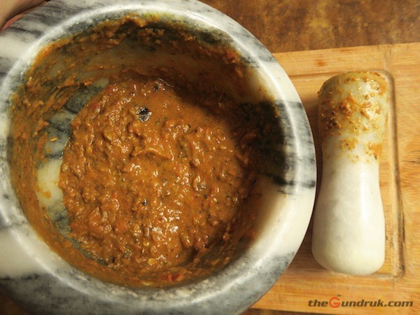 Roasted Pumpkin Seed and Tomato Achaar