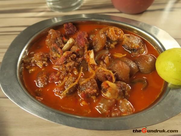 pork leg curry
