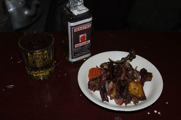 smoke-dried meat
