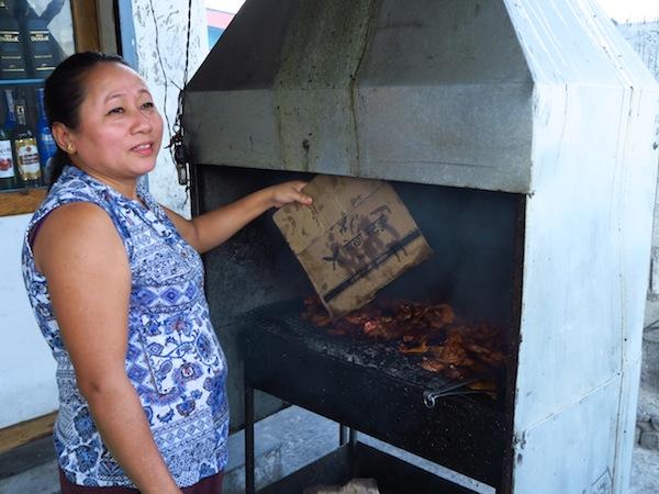 making pork sekuwa