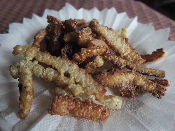 fried chhurpi