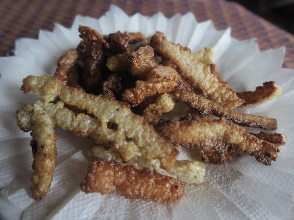 fried chhurpi