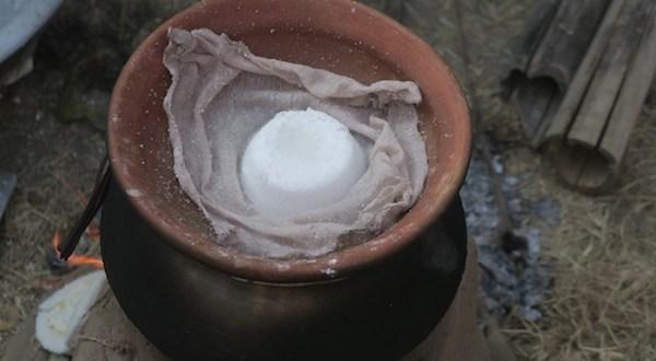 Steaming bhakka