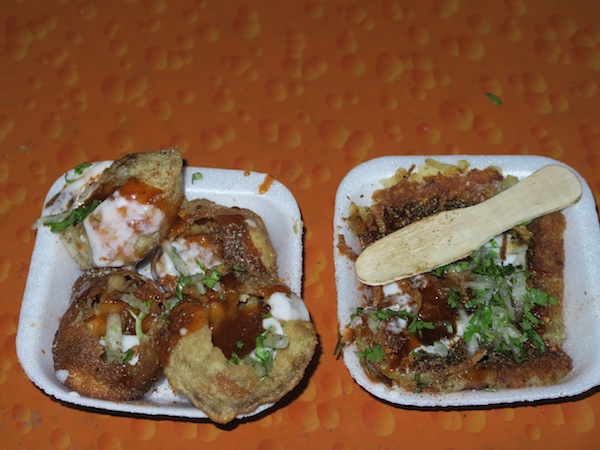 mittha paanipuri and tikki chaat
