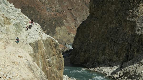 scary trail near Khadang