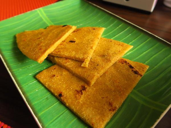 maize flour bread