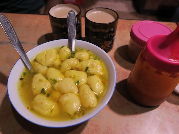 potato dumplings soup