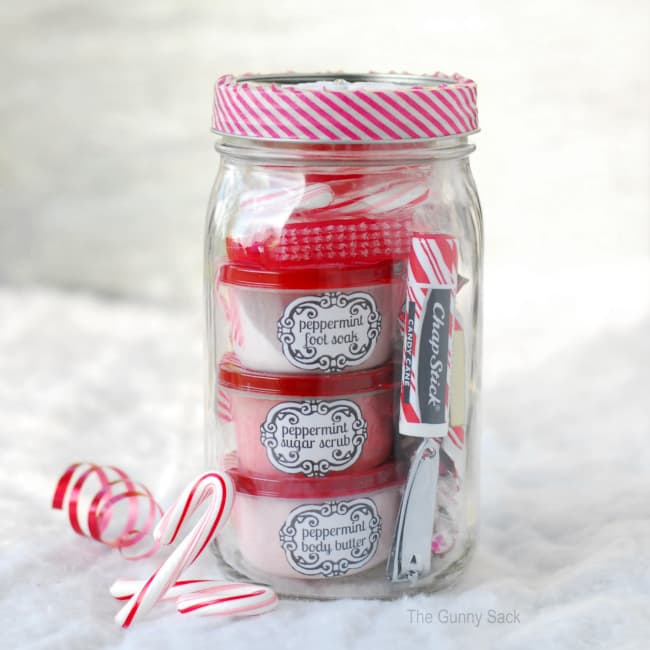 Peppermint Pampering Christmas Gift