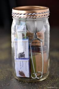 Tea Time Mason Jar Gifts - The Gunny Sack