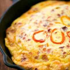 Kitchen Bar Ideas Cork Floors In Easy Frittata Recipe - The Gunny Sack