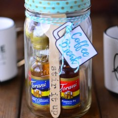 Kitchen Crock Rugs At Target Coffee Break Mason Jar Gift - The Gunny Sack