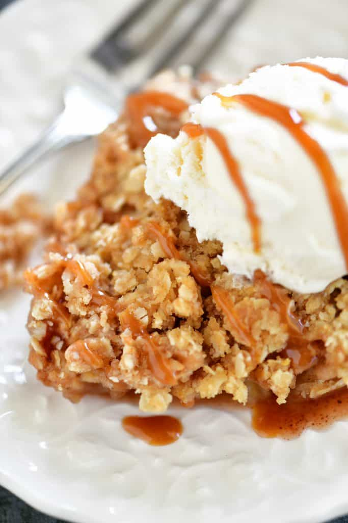 Easy Apple Crisp Recipe  The Gunny Sack