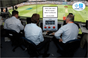 Channel 9 Cricket Commentary