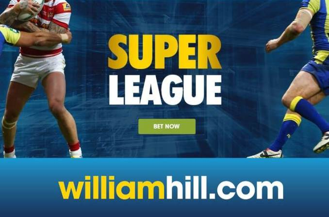 William Hill rugby league betting