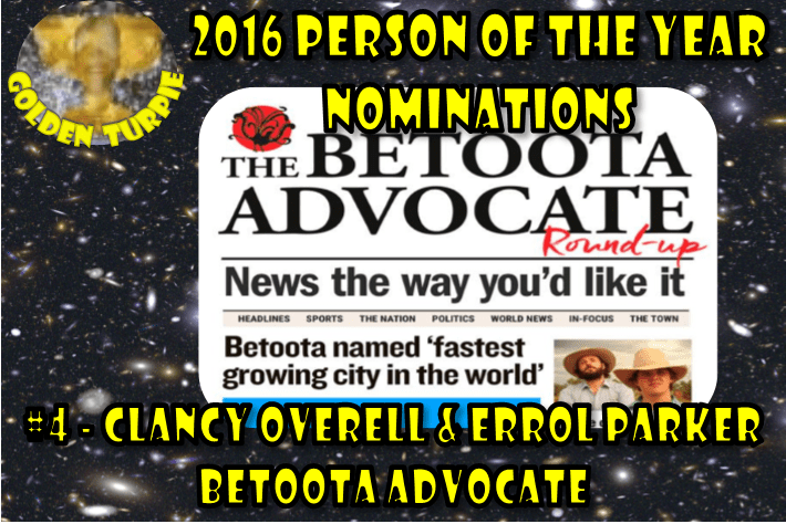 Clancy Overell + Errol Parker @ Betoota Advocate - Person of the Year Nom #4