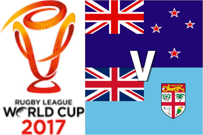 RLWC2017 Quarter Final 3 - New Zealand v Fiji - Match Preview