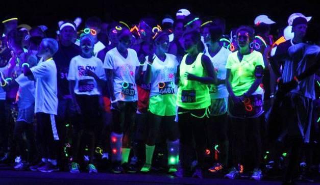 Glow Run Scheveningen (23 May 2014)