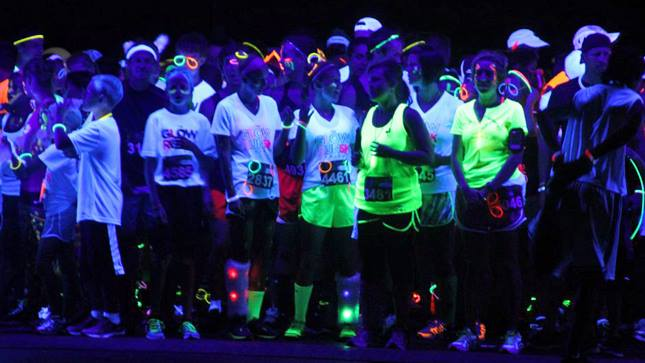 Glow Run Scheveningen (23 May 2014)