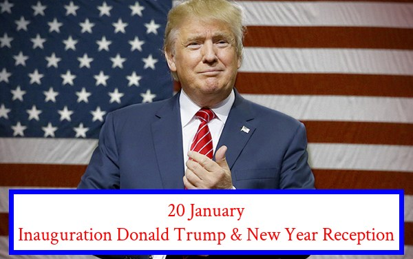 The Hague International Network: Donald Trump Inauguration & New Year Reception
