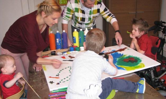 Huge Art workshop for chronically ill children
