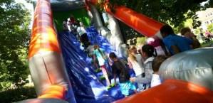 Bouncy Castle Festival @ Huijgenspark , The Hague