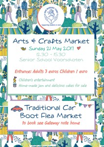 Arts and Crafts Market with Traditional Car Boot Sale @ BSN - Senior School, Voorschoten