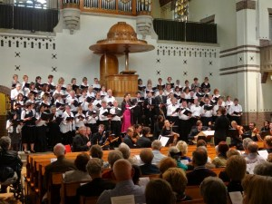 Cecilia International Choir - a concert of English music @ Nieuwe Badkapel church, Scheveningen