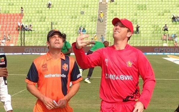 Dutch cricket team play one-day series against Zimbabwe