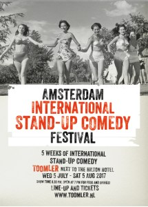 Comedytrain International Summer Festival 2017 @  Toomler, Amsterdam @ Theater Toomler