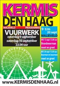 Funfair in Den Haag