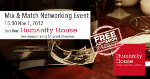 Volunteer The Hague Mix & Match Networking Event @ Humanity House