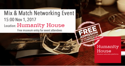 Volunteer The Hague Mix & Match Networking Event