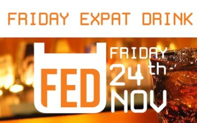 FED Friday Expat Drink in Gember