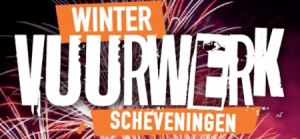 Four Evenings of Winter Fireworks at Scheveningen Beach @ Near the Amrâth Kurhaus Hotel