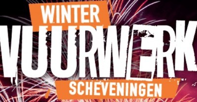 Four Evenings of Winter Fireworks at Scheveningen Beach