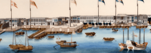 'Chinese Export Paintings' by Marie Claire Valck Lucassen @ Warenar