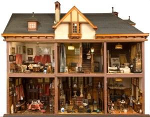 The world behind a dolls house. Willem Tholen, Lita de Ranitz and friends. @ Haags Historisch Museum