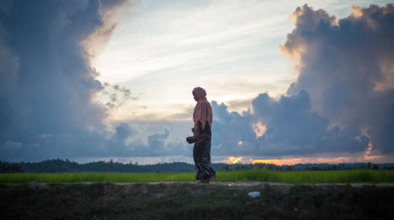 A lonesome voice from Myanmar