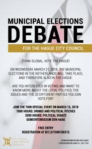 Municipal Elections Debate @ Gemeentemuseum Den Haag