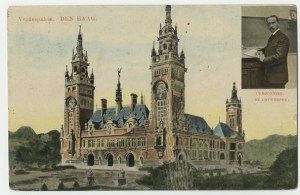 Exhibition about the Peace Palace @ Atrium of The Hague City Hall