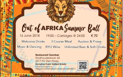 Out of Africa Summer Ball – in support of BSN Project Africa
