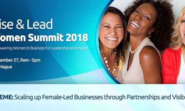 Rise and Lead Summit for Women in Business Comes to The Hague in September
